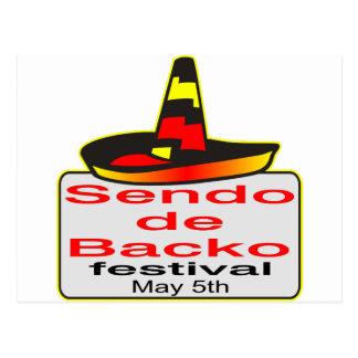 Cinco de Mayo ahora es Sendo de Backo Festival Postal