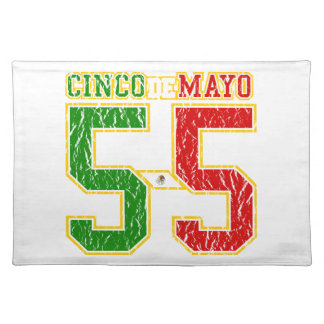 Cinco De Mayo Athletic Dept Placemat