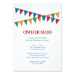 Cinco de Mayo Banner Invitation