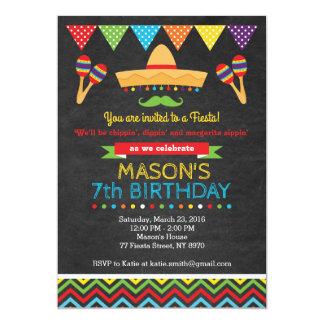 Cinco De Mayo Birthday Invitation