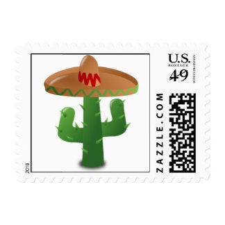 Cinco De Mayo Cactus Postage