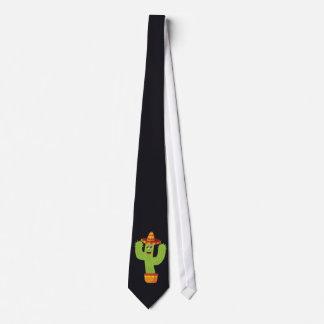 Cinco de Mayo Cactus Tie