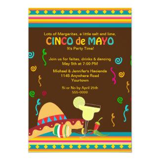 Cinco de Mayo Celebration 5x7 Paper Invitation Card