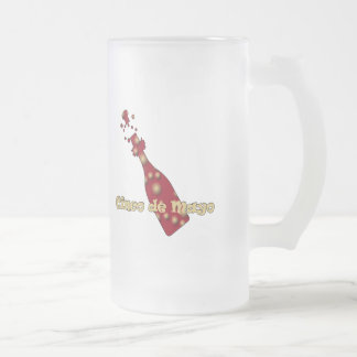 Cinco de Mayo Celebration T-shirts and Gifts 16 Oz Frosted Glass Beer Mug
