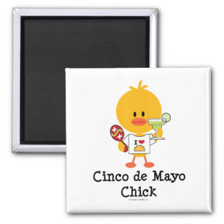 Cinco de Mayo Chick Magnet