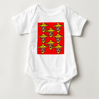 Cinco De Mayo Chihauhaus Baby Bodysuit