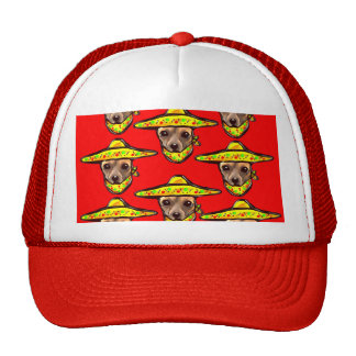 Cinco De Mayo Chihauhaus Trucker Hat