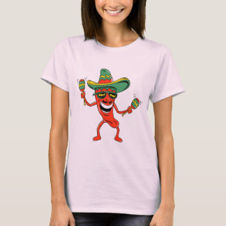 Cinco de Mayo Chili Pepper T-shirts and Gifts