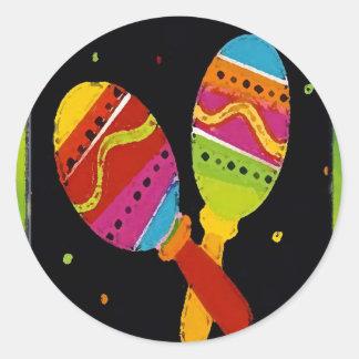 Cinco De Mayo Classic Round Sticker