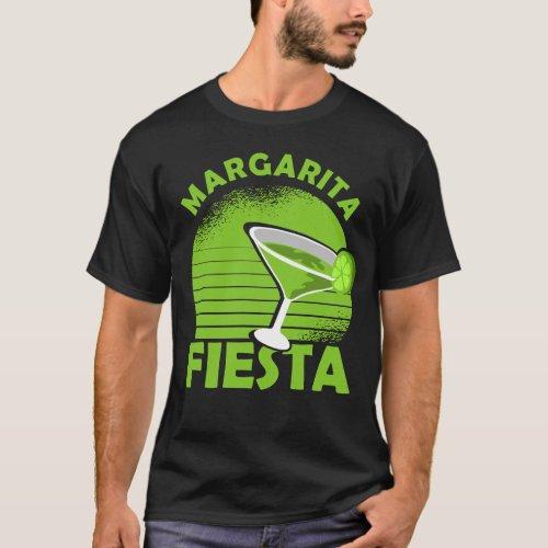 Cinco de Mayo Costume Gift I Margarita Fiesta T_Shirt