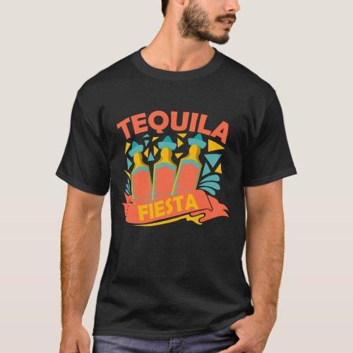 Cinco de Mayo Costume Gift I Tequila Fiesta T_Shirt