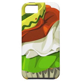 Cinco de mayo cupcake iPhone 5 cases