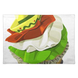 Cinco de mayo cupcake place mat