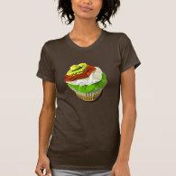 Cinco de Mayo cupcake t-shirt