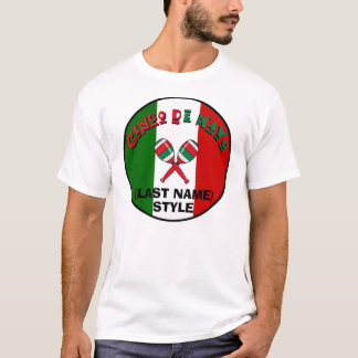 Cinco de Mayo Customizable T-Shirt