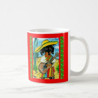 Cinco de Mayo Dachshund Mug