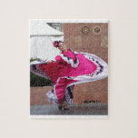 Cinco De Mayo Dancer Jigsaw Puzzle