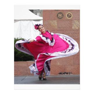 Cinco De Mayo Dancer Letterhead