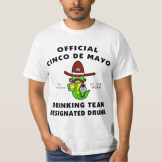 Cinco de Mayo Designated Drunk T-Shirt