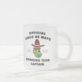Cinco de Mayo Drinking Team Captain Mug