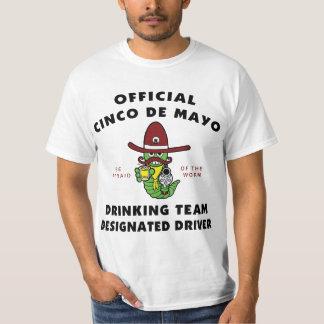 Cinco de Mayo Drinking Team Designated Driver T Shirt
