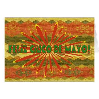 Cinco de Mayo Feliz Card