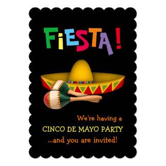 Cinco de Mayo Fiesta Card