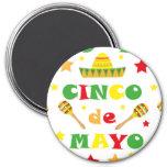 Cinco de Mayo Fiesta in Mexico holiday Magnet