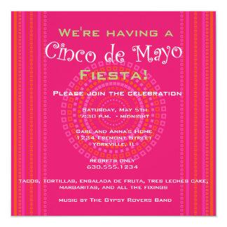 Cinco de Mayo/Fiesta Invitation
