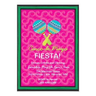 Cinco de Mayo Fiesta Invitations