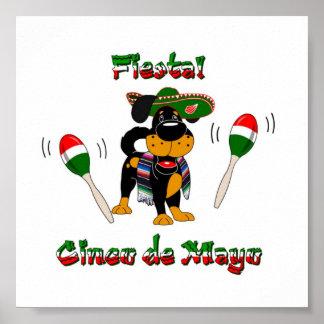 Cinco de Mayo - Fiesta! Poster