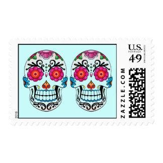 Cinco De Mayo Fiesta, Sugar Skulls Postage