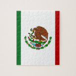 Cinco de Mayo Flag of Mexico Jigsaw Puzzle