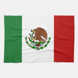 Cinco de Mayo Flag of Mexico Hand Towel