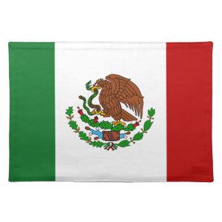 Cinco de Mayo Flag of Mexico Place Mat