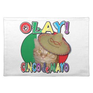 Cinco de Mayo Flag of Mexico Placemats