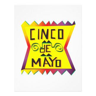 Cinco De Mayo Flyer A Todo Color