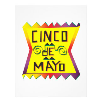"Cinco De Mayo Folleto 8.5"" X 11"""
