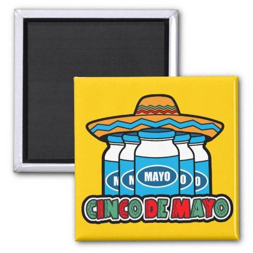 Cinco De Mayo Fridge Magnet
