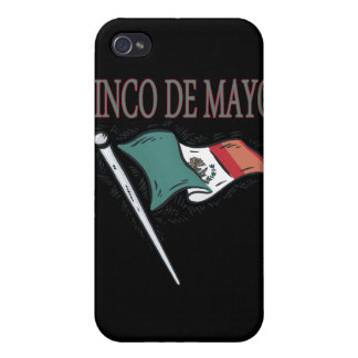 Cinco De Mayo iPhone 4 Carcasa