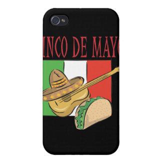 Cinco De Mayo iPhone 4 Cobertura