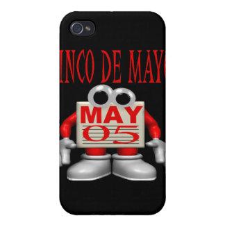 Cinco De Mayo iPhone 4 Protectores