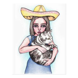 Cinco De Mayo Girl Post Cards