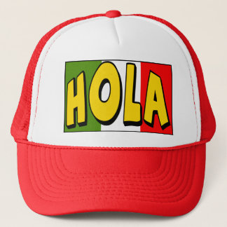 Cinco de Mayo Hola T-shirts and Gifts Trucker Hat