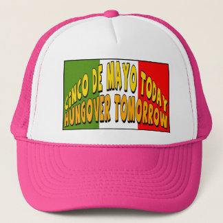 Cinco de Mayo Hungover T-shirts and Gifts Trucker Hat