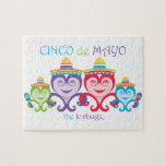 CINCO DE MAYO LOVBUGZ FAMILY COLLECTION JIGSAW PUZZLE
