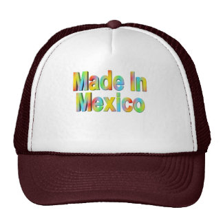 Cinco de Mayo Made In Mexico T-shirts and Gifts Trucker Hat