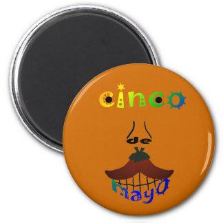 Cinco De Mayo Man Magnet