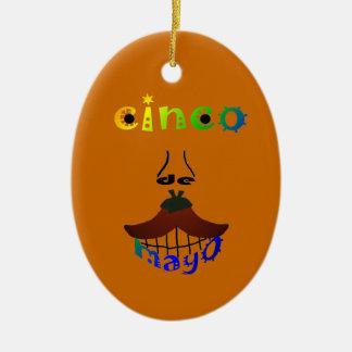 Cinco De Mayo Man Ornament