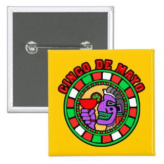 Cinco de Mayo: Mandala Pin